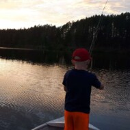 Youngfamfishing